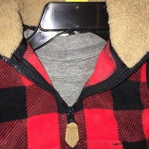 Carter's InfantBoy 3pc Set:Plaid Vest/Onesie/Pants